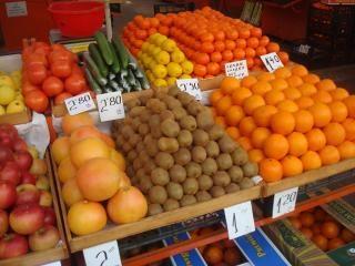 Consumi in calo per frutta e verdura