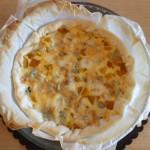 torta salata zucca e gorgonzola