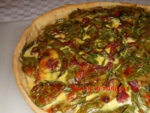 Quiche agli spinaci e bresaola