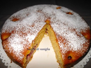 torta cocco e fragole