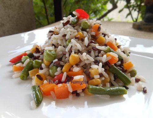 Duetto di riso vegetariano