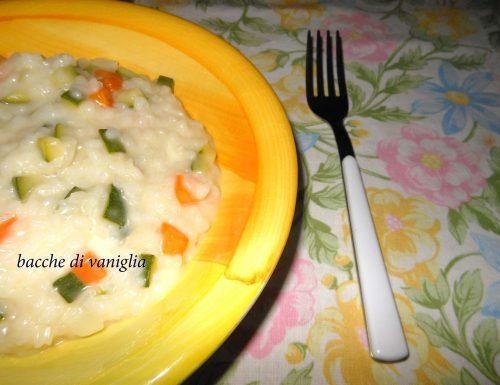Risotto alle verdure