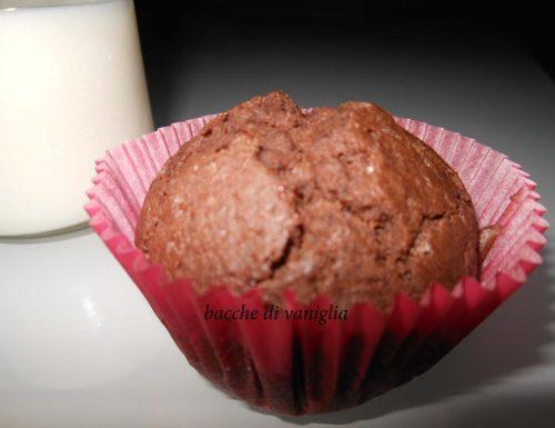 Muffins cacao e caffè senza glutine