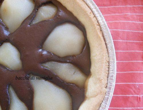 Crostata pere e cacao senza glutine