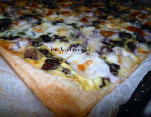 Quiche radicchio e gorgonzola senza glutine