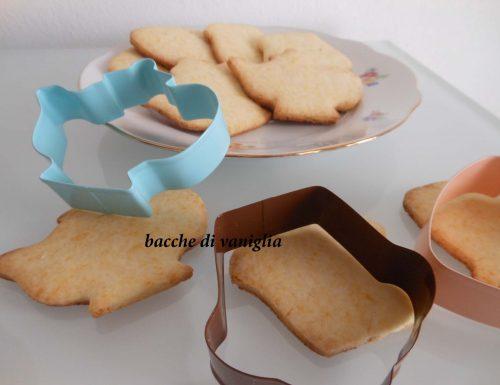 Biscotti di riso e miele senza glutine