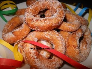 ciambelle di Carnevale senza glutine