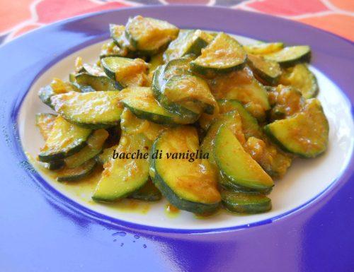 Zucchine alla curcuma