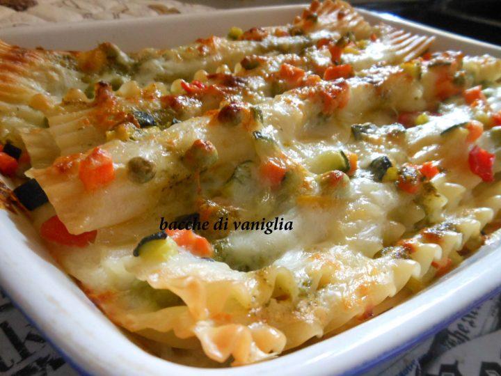 lasagne alle verdure senza glutine