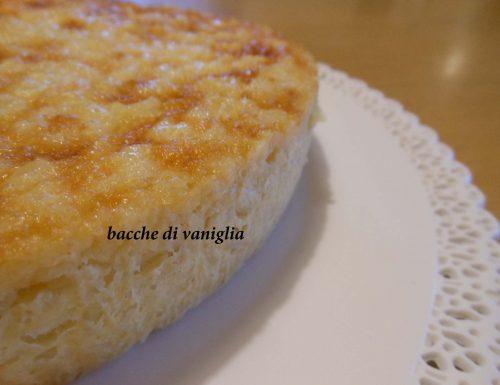 Torta di riso e amaretti senza glutine