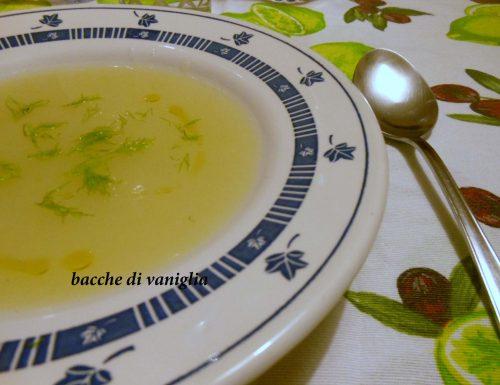 Crema di finocchi e patate
