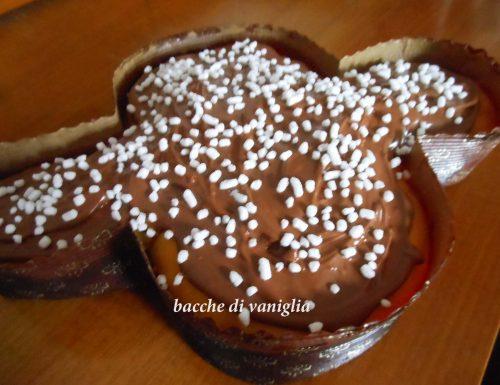 Colomba al doppio cioccolato senza glutine