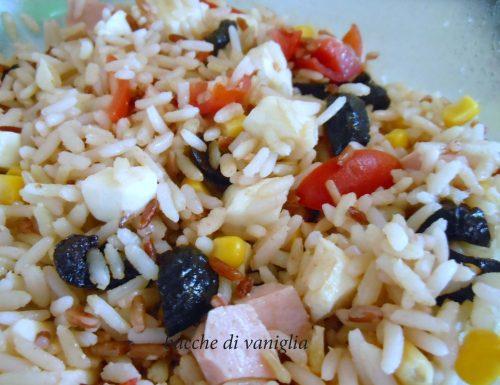Insalata di riso light senza glutine